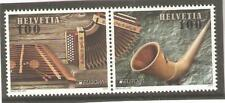 2014   SWITZERLAND - SG 2021 / 2022 - EUROPA - MUSICAL INSTRUMENTS - UMM
