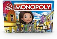 Hasbro Ms. Miss Monopoly Edition Property Trading Board Game