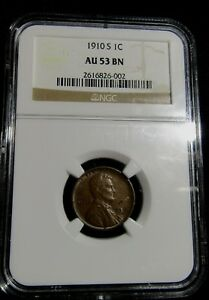 1910-s Lincoln Wheat Cent Penny High Grade