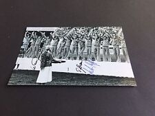 DDR FUßBALL OLYMPIASIEGER 1976 signiert signed Photo 10x15 Autogramm