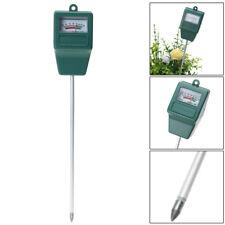 LCD Feuchtigkeitstemperatur Sonnenlicht Messgerät PH Garten Boden Tester Meter