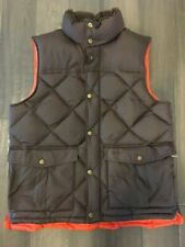 Barbour Brown Full Zip Vest Down Explorer Gilet Puffer 100% Polyamide Size L
