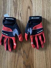 Louis Garneau Women's MTB Gloved ERGOAIR Gel+RTR Padded Full Finger Medium