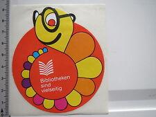 Aufkleber Sticker Bibliotheken (6556)
