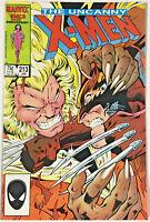 UNCANNY X-MEN#213 VF/NM 1986  MARVEL COMICS