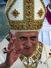 Papa Benedetto XVI-REPRO-AUTOGRAFO 20x26 cm GRANDE FOTO (Joseph Ratzinger)