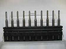 Tungsten Carbide Micro Drill Bits PCB 5pcs 10pcs individuellement 0.2 mm jusqu/'à 2 mm