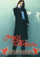 Ozzy Osbourne Black Sabbath Box Topper Chase Card A1 NECA 2001