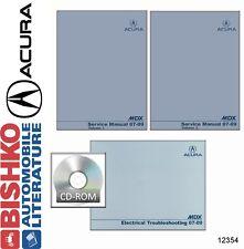2007 2008 2009 Acura MDX Shop Service Repair Manual DVD w/ ETM manual OEM