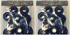 20 paia Plastica Blu Autosigillante Anelli di tenuta -Snap Occhielli per