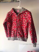 Girls Jacket/Zippered Hoodie - Size L 10/12 - Beverly Hills Princess