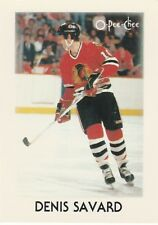 1987-88 O-Pee-Chee Mini Denis Savard