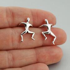 Klettern Mann Ohr Manschette Ohrringe - 925 Sterling Silber Männer Wrap Paar lustig Geschenk