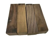 """4 PIECES LOT, INDIAN ROSEWOOD TURNING WOOD, KNIFE BLANK   1-1/2"""" x 1-1/2"""" x 6"""""""