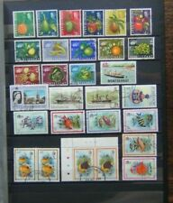 Montserrat Useful range with 1965 values to 60c 1981 Officials to $1 Used