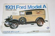 Entex 1:16 1931 Ford Model A Deluxe Van #9016 - Open Box - Some Bags sealed