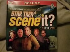 STAR TREK Scene It? DVD Trivia Game Deluxe Tin Box