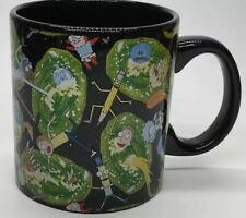 New listing New RicK and Morty 20oz Coffee/Tea/Mug Adult Swim Cartoon Network Ceramic