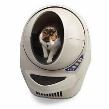 New listing Automated Pet Care Cat Robot Open-air litter robot clean litter cat kitten pet