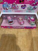 Shopkins Season 1 Cutie Cars 28 Soft Swerve 29 Strawberry Scoupe 30 Zippy Popsic