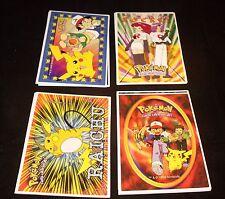 POKEMON - CREATURES, GAME FREAK Stickers - Complete Set  Nintendo