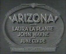 ARIZONA 1931 (DVD) JOHN WAYNE, LAURA LA PLANTE