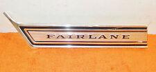 1967 Ford Fairlane Hardtop 500 XL Convertible ORIG LH FRONT FENDER TRIM MOLDING