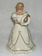 1999 Lenox A Christmas Welcome Figurine, Limited Edition Ivory China