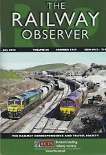 THE RAILWAY OBSERVER - JULY 2016