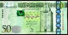 LIBYA   50  DINARS  2013  Serie 1  P 80 (1)  Uncirculated Banknotes