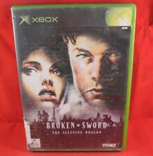 Broken Sword - The Sleeping Dragon | Original Microsoft Xbox Game Complete PAL
