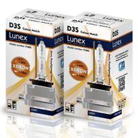 2 x D3S 4300K Genuine LUNEX XENON NEW BULB compatible with 66340 9285304244 CM