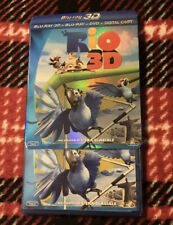 Rio Blu-ray 3D + 2D + DVD + Digital Copy With Slipcover
