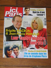 ICI PARIS n° 3807 - Macron & Pernaut, Angelina Jolie, Yvette Horner, Margotton
