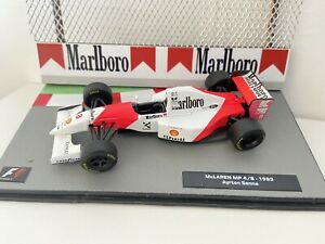 F1 Car Collection XTRA-Ayrton Senna Full MARLBORO McLaren MP4/8  1993 - Superb