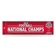 Ohio State Buckeyes Official 2015 NCAA National Champions Bumper Sticker