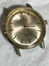 Omega Seamaster DeVille vintage Gold tone men's watch Swiss Made WORKING