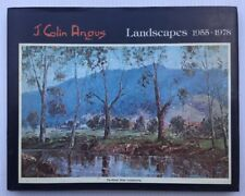 J Colin Angus Landscapes 1955-1978 Signed Edition