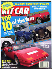 Kit Car Magazine January 1991 Top 10 Of The Year EX 030116jhe