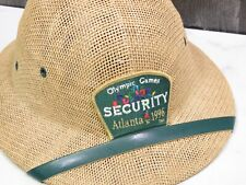 Olympics Games Atlanta 1996 Security Adjustable Pith Hat Cap Collectible New