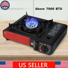 Dual Fuel Stainless Portable Propane & Butane Camping Kitchen Gas Stove Burner