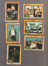 Lot of 6 New Kids on the Block NKOTB trading cards