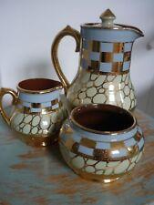 Vintage /Retro Sadler China Set Tea/Coffee Pot/Milk Jug/Sugar Bowl