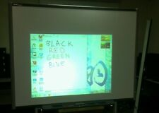 """SB680 77"""" Smart Board Interactive Board with 4 Pens, Eraser, Pen Tray and Cable."""