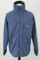 BERGHAUS Blue Fleece Jacket size M