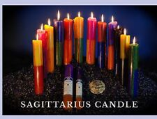 Astrological Candle Sagittarius By Star Child Zodiac Candle From Glastonbury