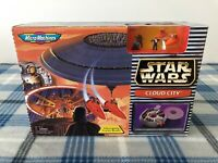 VINTAGE * NIB * 1997 Star Wars Micro Machines Cloud City Playset Galoob 65995