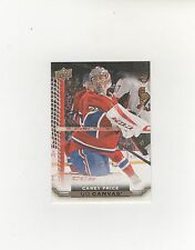 2015-16 UPPER DECK YOUNG GUNS UD CANVAS CAREY PRICE CARD  C44
