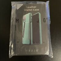 Iphone 11 Pro Max Mujjo Leather Wallet Case Alpine Green *New In Box*