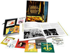 RODGERS AND HAMMERSTEIN   COMPLETE BROADWAY MUSICALS  12 CD's + 100 PAGE BOOK  +
